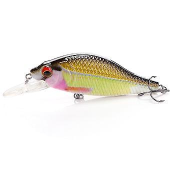Minnow Wobblers Hauki kalastus houkutella keinotekoinen syötti kova uimabait