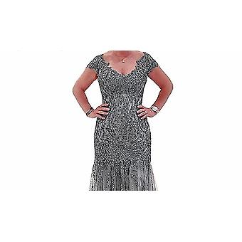 Shiny Rhinestones Beaded Dress