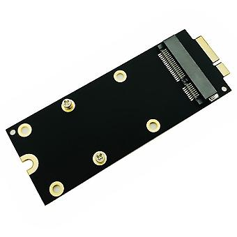 Msata Ssd To Sata 7+17 Pin Adapter Card 2012 For Macbook Pro Mc976 A1425 A1398