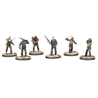 Fallout Wasteland Warfare - Raiders, Scavvers & Psychos Miniatures