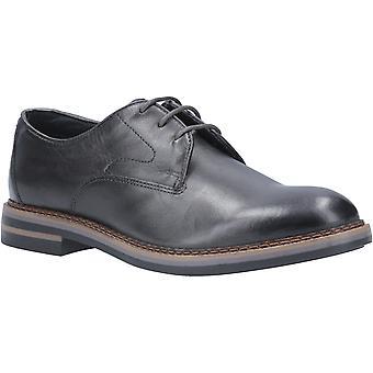 Base Wayne Burnished Mens Leather Formal Shoes Grey UK Size