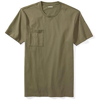 "Goodthreads Men's ""The Perfect Crewneck T-Shirt "" Short-Sleeve Cotton, Olive, ..."