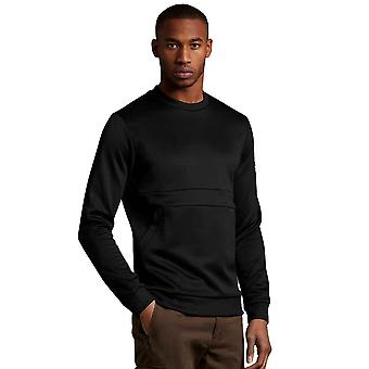 Lyle & Scott Casuals Zip Pocket Sweatshirt - Jet Black