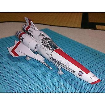 3d Paper Model Diy Handmade Spacecraft Toy