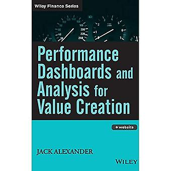 Performance Dashboards and Analysis for Value Creation: How to Create Shareholder Value (Wiley Finance)