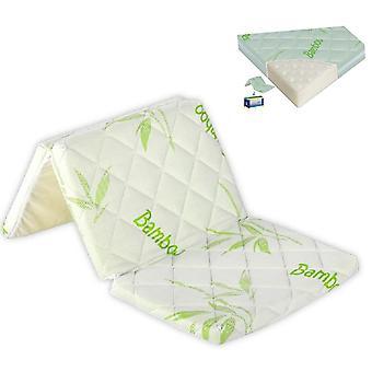Lorelli colchón plegable Air Comfort bambú, 120 x 60 x 6 cm, sistema de ventilación