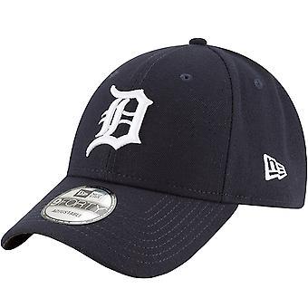 Neue Ära Unisex Erwachsene Detroit Tigers Die Liga MLB 9Forty Baseball Cap - Navy