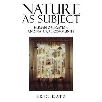 Nature as Subject