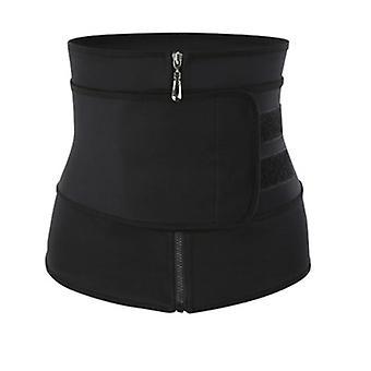 المرأة الخصر المدرب اللياقة البدنية ساونا العرق نيوبرين حزام التخسيس / حزام سستة
