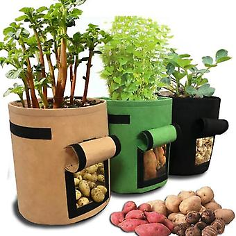 Plant Grow Bags, Home Garden Greenhouse Vegetable Growing Pot