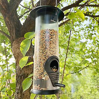Hanging Wild Bird Seed Feeder Bird Food Dispender Feeding Tool Outdoor Garden Yard Outside Decoration