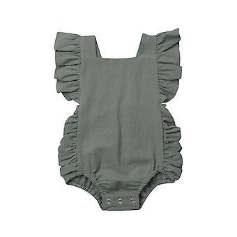 Baby Jumpsuits, Newborn Baby Romperheadband Sunsuit