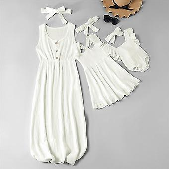 Mom And Daughter Dress, Clothes
