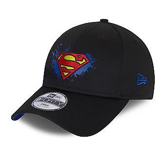 Ny æra Kids Character Splat 9Forty Cap ~ Superman