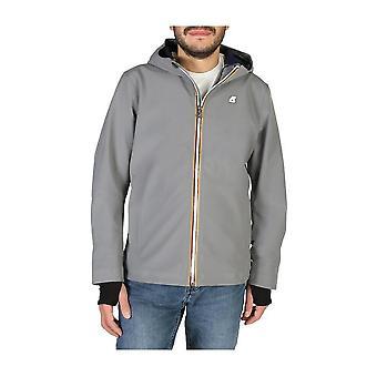 K-Way - Clothing - Jackets - JACK-BONDED-K008J00-A0L - Men - gray - M