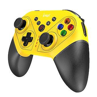 Bluetooth Gamepad för N Switch NS Switch NS Switch Console Trådlöst Gamepad Videospel (gult)