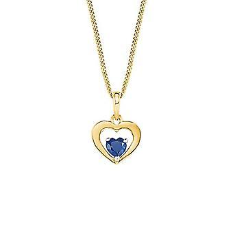Collar de amor con mujer colgante Oro_Giallo - 2023012