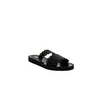 Tabitha Simmons   Akela Double-Strap Slide Sandals