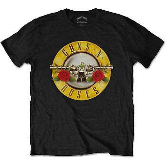 Guns N' Roses - Classic Logo Kids 11 - 12 Years T-paita - Musta