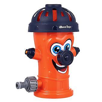 Como mostrado ibasetoy hidrante água sprinkler água pulverizando brinquedo para piscina jardim gramado ao ar livre dt3748