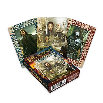 Vodnár Pán prsteňov Kartová hra
