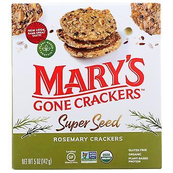 Marys Gone Crackers Cracker Rosemary, Case of 6 X 5 Oz