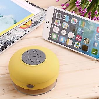 Imperméable à l'eau sans fil Bluetooth mains libres Mic Aspiration Haut-Parleur Douche Voiture
