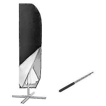Outdoor sunshade umbrella cover, garden waterproof and dustproof banana umbrella cover(57*48*25cm)