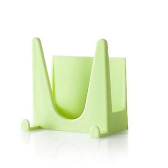 10Pcs البلاستيك مطبخ الملحقات وعاء عموم تغطية شل تغطية أداة مصاصة قوس التخزين الرف