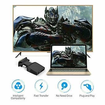 VGA HDMI Adapter Full HD 1080P Audio Video Converter Laptop naar TV HDTV AV
