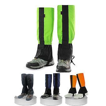 Hiking snow skiing legging gaiters waterproof leg protection guard cover outdoor snow kneepad skiing hiking ski legging