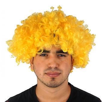 מסיבה מספקת פאה צבעונית חגיגית מצחיק ליצן(צהוב)