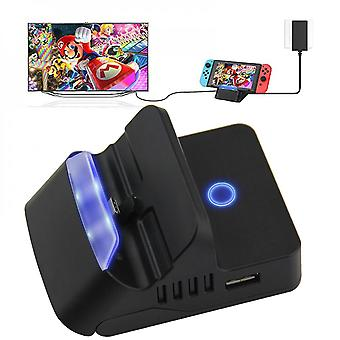 Multifunctional Nintendo Switch Hdmi Charging Dock, Compact Switch To Hdmi Adapter