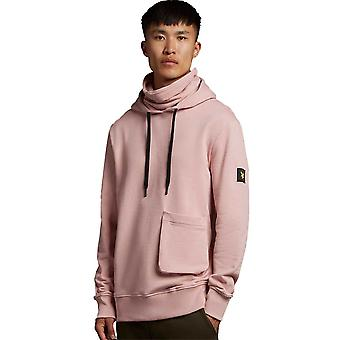 Lyle & Scott Casuals Face Covered Hoodie - Stone Pink