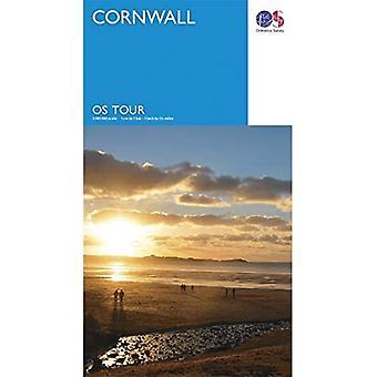 Cornwall (OS Tour Kaart)