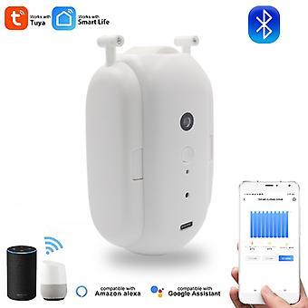 Tuya Smart Curtain Switch-bot Wireless Automatischer Vorhangöffner Roboter Rutenschalter Elektromotor Fernbedienung Alexa Google Home
