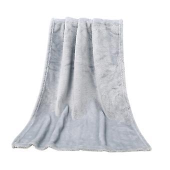 50 * 70cm zachte Coral Fleece warme gezellige huisdier deken, pak van 2
