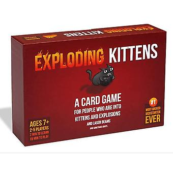 Exploding Kittens A Russian Roulette Card Game