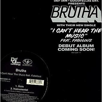 Brutha - jag kan inte höra musik [Vinyl] USA import