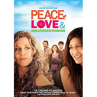 Peace Love & Misunderstanding [DVD] USA import