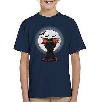 Monster Of The Night Gremlins Dracula Kid's T-Shirt