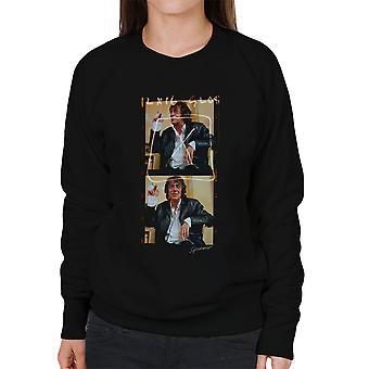 Howard zaznacza Pan ładne zdjęcie bębnowa Damska bluza