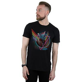 Marvel Men's Guardians Of The Galaxy Neon Yondu T-Shirt
