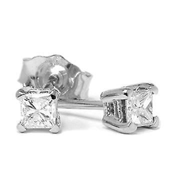 1 / 3ct diament stadniny 14K białe złoto