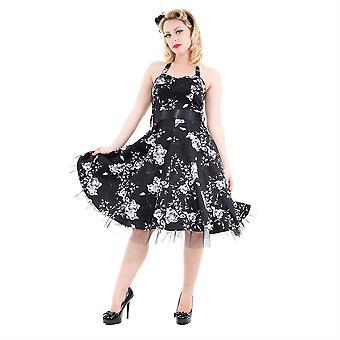 H&R Floral Halterneck Long Dress