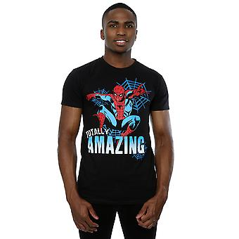 Marvel Men's Spider-Man Totally Amazing T-Shirt