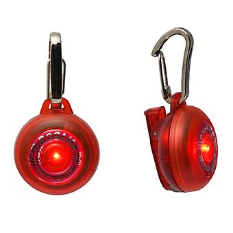 Rogz Roglite Safety Light Illuminated Flashing Dog Tag