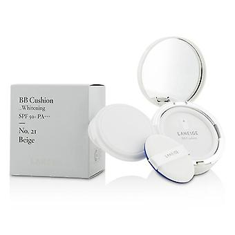 Laneige Bb Cushion Foundation (whitening) Spf 50 With Extra Refill - # No. 21 Beige - 2x15g/0.5oz