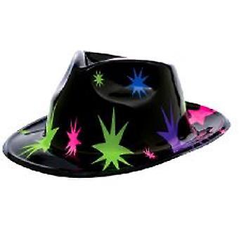 Stjärna plast cowboyhatt
