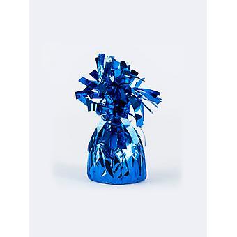 Ballon gewicht folie verpakt blauw